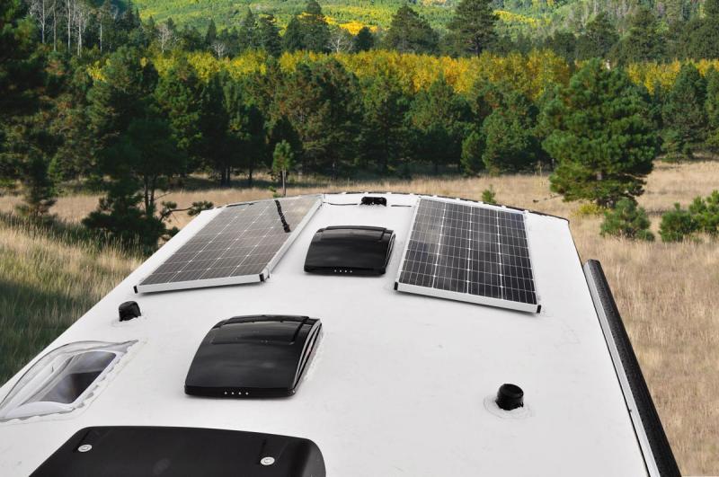 Off Grid Solar Pkg (2) 170 Watt Panels
