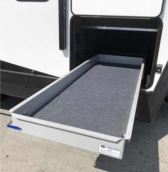 Front Storage Pull-out Cargo Tray